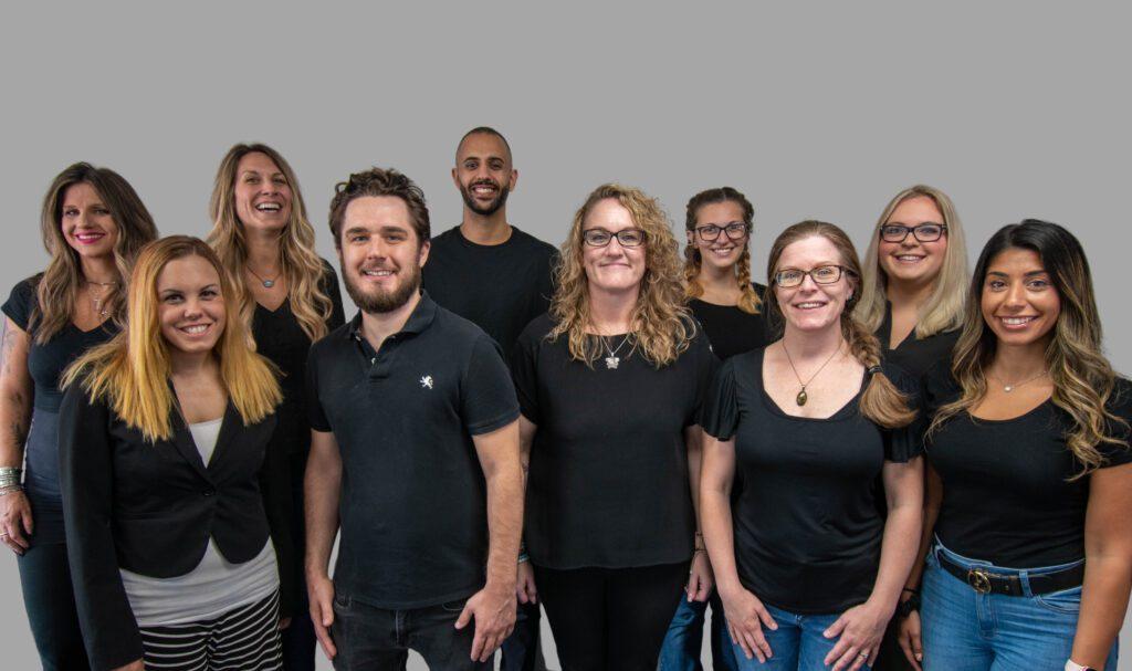 Showing part of the Zelexa team healthcare marketing agency